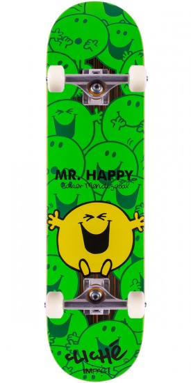 Cliche Mr. Men Impact Mendizabal Skateboard Complete - 7.75""