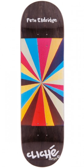 Cliche Pete Eldrige Painter Series Skateboard Deck - 8.1""