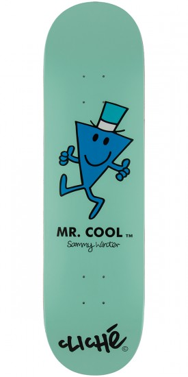 Cliche Winter Mr. Men Skateboard Deck - 8.375""