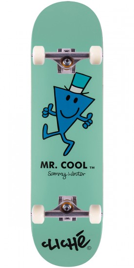 Cliche Winter Mr. Men Skateboard Complete - 8.375