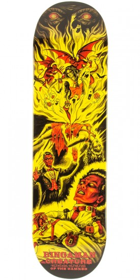 Creature Bingaman Circus of the Damned Skateboard Deck - 8.375""