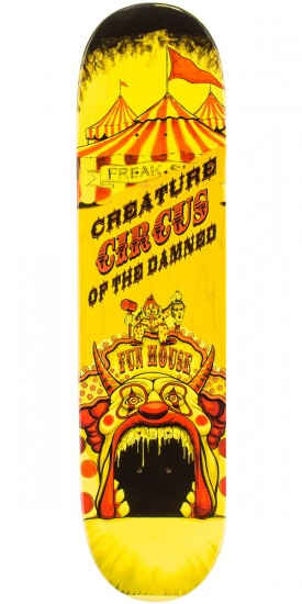 Creature Bingaman Circus of the Damned Skateboard Complete - 8.375""