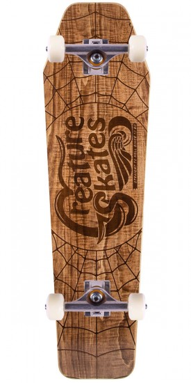 """Creature Freestyler Skateboard Complete - 8.47"""" - Brown Stain"""