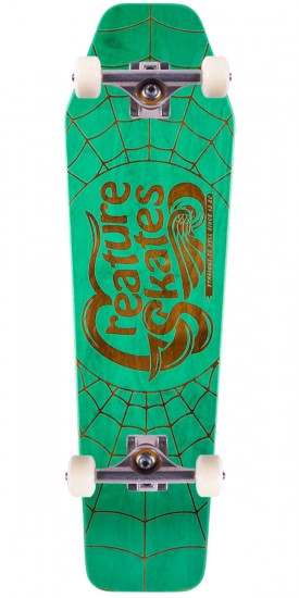 """Creature Freestyler Skateboard Complete - 8.47"""" - Green Stain"""