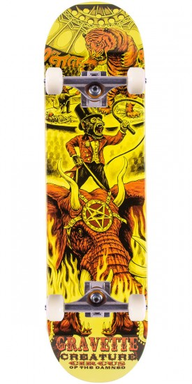 """Creature Gravette Circus of the Damned Skateboard Complete - 8.26"""""""