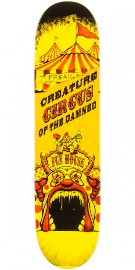 """Creature Gravette Circus of the Damned Skateboard Deck - 8.26"""""""