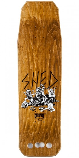 Creature Hitz Shed Mallet Skateboard Complete
