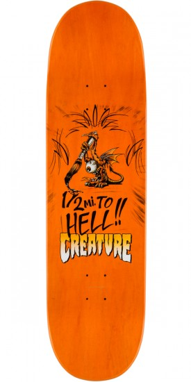 Creature Kimbel Strait to Hell Skateboard Complete - 9.0""