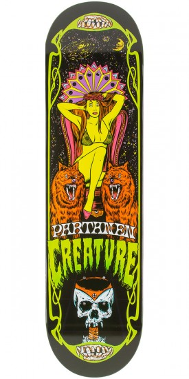 Creature Partanen Hesh Trippers Skateboard Deck - 8.20""