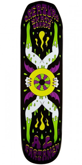 Creature Partanen Shakra Skateboard Deck - 8.20""