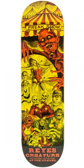 Creature Reyes Circus of the Damned Skateboard Deck - 8.00""
