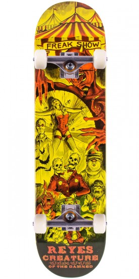 """Creature Reyes Circus of the Damned Skateboard Complete - 8.00"""""""