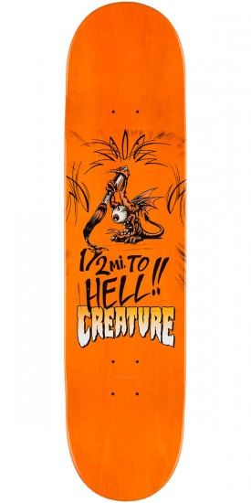"""Creature Reyes Strait To Hell Skateboard Complete - 8.0"""""""