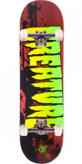"""Creature Stained Skateboard Complete - 8.60"""" - Blem"""