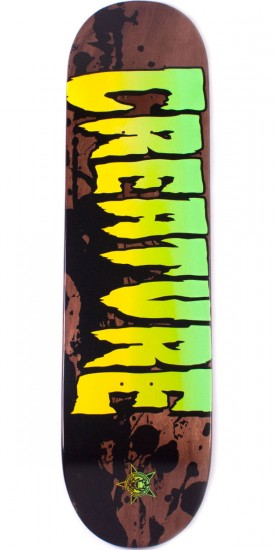 Creature Stained Skateboard Deck