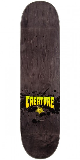 Creature Stained Skateboard Complete - Grey - 8.6