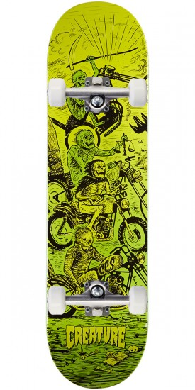 Creature X CCS Creatures Of The Apocalypse Skateboard Complete