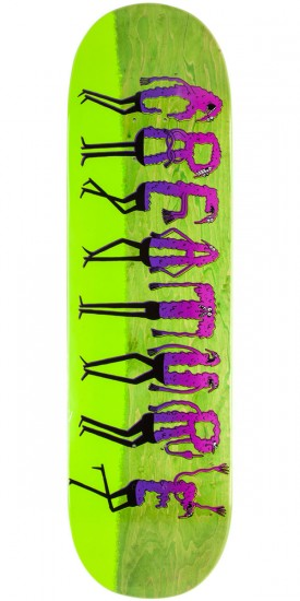 "Creature x Jay Howell Logo Dudes 1 Skateboard Deck - 8.80"" - Green"