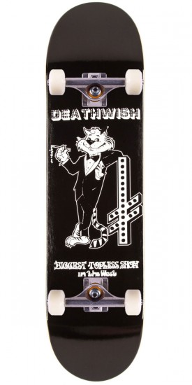 Deathwish Cool Cat Skateboard Complete - 8.00""