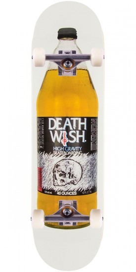 Deathwish Crooked I Skateboard Complete - 8.3875""