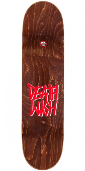Deathwish Death Spray Skateboard Complete - Red - 8.0""