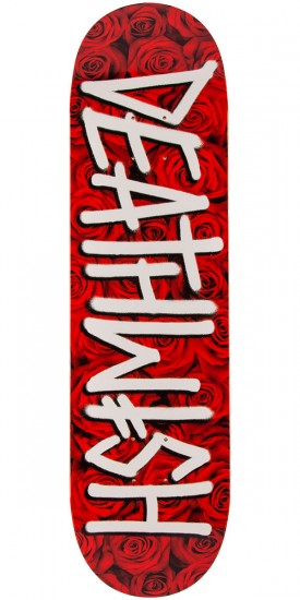 Deathwish Deathspray Roses Skateboard Deck - Red - 8.38""