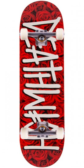 Deathwish Deathspray Roses Skateboard Complete - Red - 8.38""
