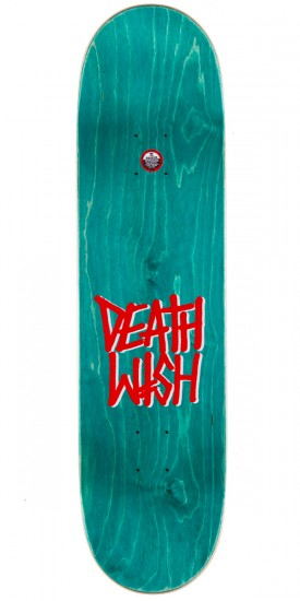 Deathwish Death Spray Skateboard Deck - Blue/Red 8.25""