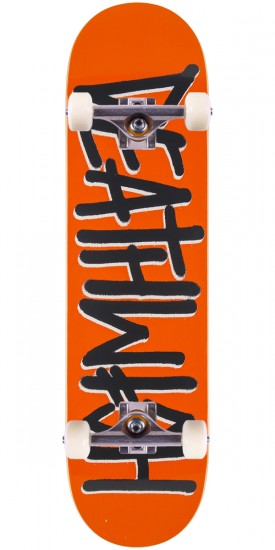 Deathwish Deathspray Skateboard Complete - Orange/Grey - 8.125""