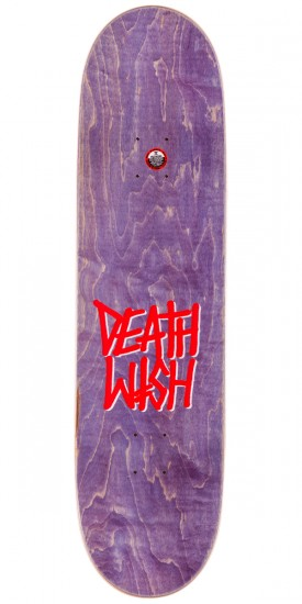 Deathwish Deathspray Skateboard Deck - Red/Gold - 8.38""