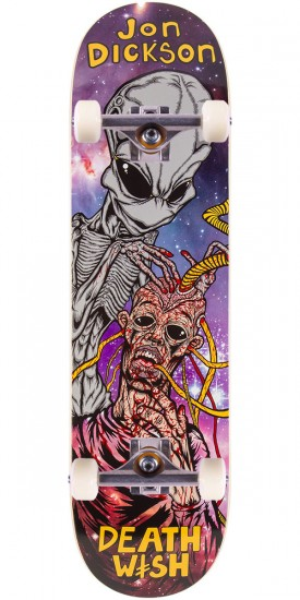 Deathwish Dickson Autopsy Skateboard Complete - 8.25""