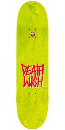 Deathwish Ellington Deadly Intent Skateboard Deck - 8.375""