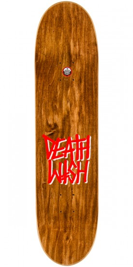 Deathwish Gang Logo Caution Skateboard Complete - 8.0""