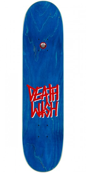 Deathwish Gang Logo Skateboard Complete - Purple/Yellow - 7.75""