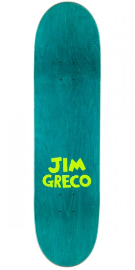 """Deathwish Greco Death Toons 2 Skateboard Complete - 8.25"""" - Brown Stain"""