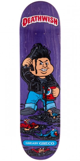Deathwish Jim Greco Greasy Greco Skateboard Deck - Purple - 8.00""