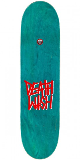 Deathwish Jim Greco Mascot Mayhem Skateboard Deck - Green - 8.25""