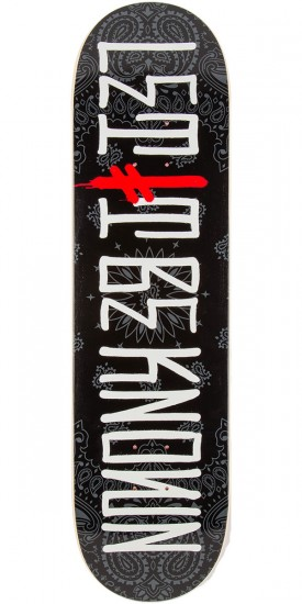 """Deathwish Let It Be Known Skateboard Deck - 8.125"""""""