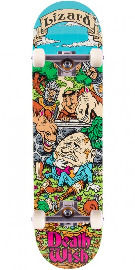 Deathwish Lizard King Story Time Skateboard Complete - 8.125""