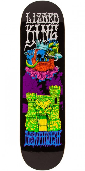 Deathwish LK Blacklight Skateboard Deck - 8.25""