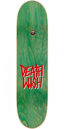 Deathwish Moose Mascot Mayhem Skateboard Complete - Yellow - 8.125""