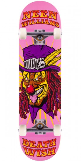 Deathwish Neen Williams Clowns Skateboard Complete - 8.125""