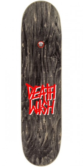"Deathwish Original G Logo Punch Out Skateboard Complete - 8.50"" - Orange Stain"