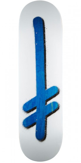 "Deathwish Original G Logo Punch Out Skateboard Deck - 8.50"" - Blue Stain"