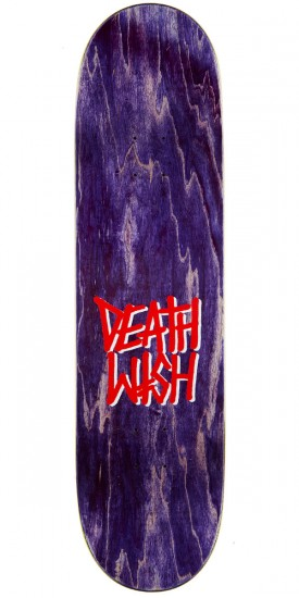 """Deathwish Original G Logo Punch Out Skateboard Complete - 8.50"""" - Blue Stain"""