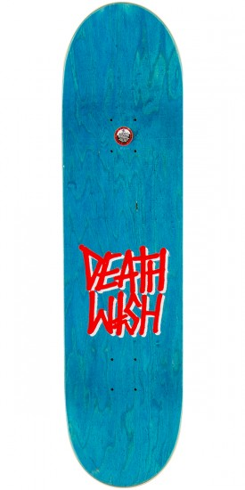 Deathwish Original G Logo Skateboard Complete - Black/Red - 8.475""