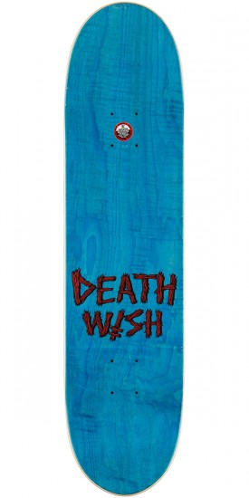 Deathwish Slash Delicacy Skateboard Deck - 8.0""