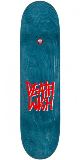 Deathwish Slash Mascot Mayhem Skateboard Deck - Green - 8.38""