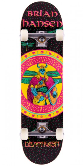 Deathwish Slash Prophecies Skateboard Complete - 8.0""
