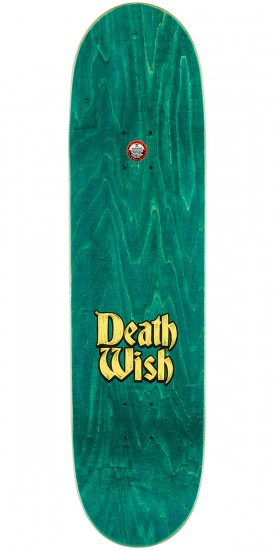 Deathwish Williams Story Time Skateboard Deck - 8.3875""